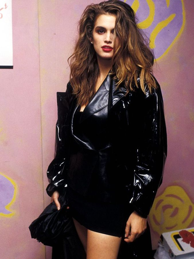 Eighties Fashion Trends: Vinyl Jackets