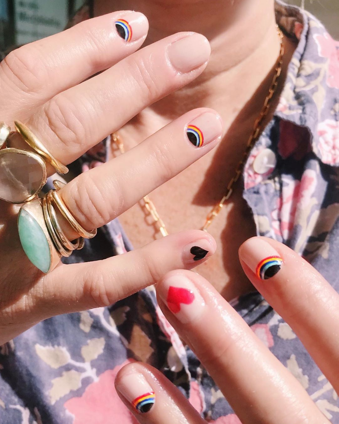 16 Valentine S Day Nail Ideas To Complement Any Outfit Who What Wear