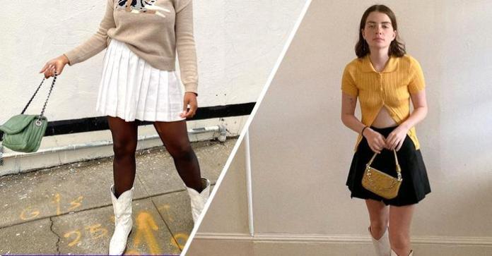 best pleated mini skirts 286988 1588184593507