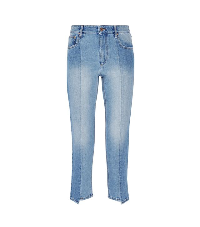 Clancy Cropped High-rise Straight-leg Jeans