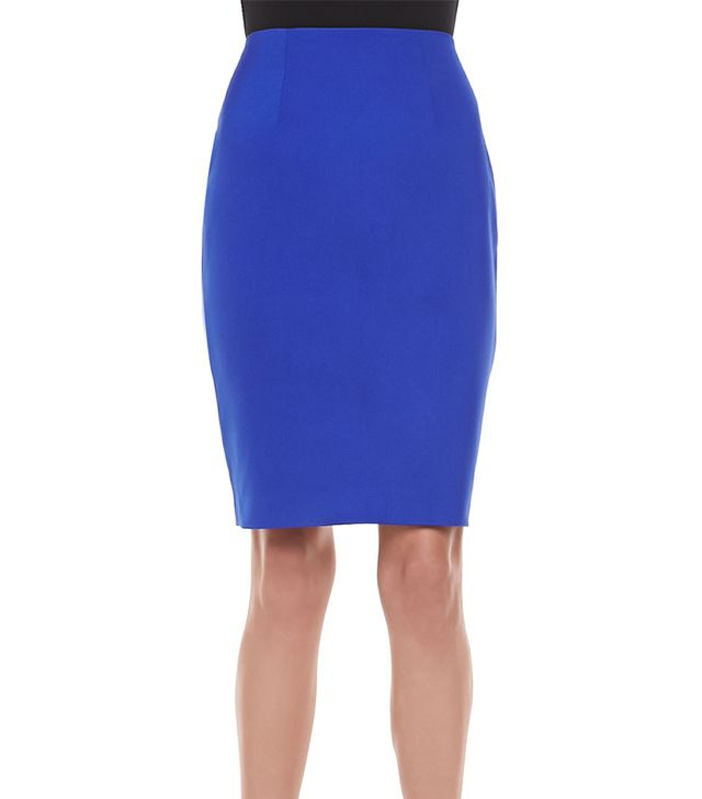 The fitted high-waist on this pencil skirt will ensure your tiny waist is the center of attention.  Cameo Pink Matter Pencil Skirt ($132)