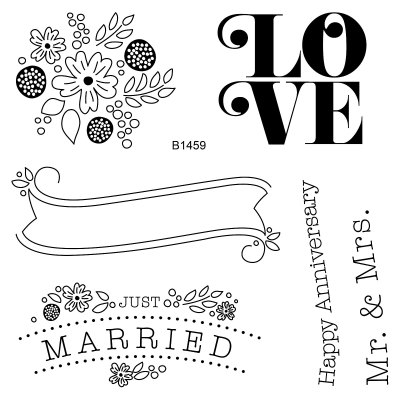 The Celebrate Love Stamp Set Gives You Images And Sentiments Need For Creating Wedding Anniversary Cards