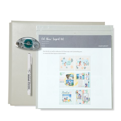 Postcard Perfect Post-bound Album Bundle (Grey Album) (CC5187)