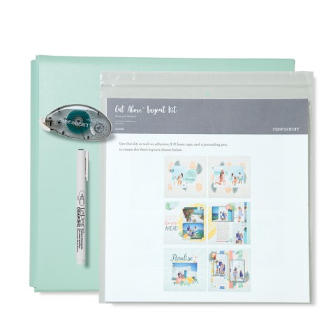 Postcard Perfect Post-bound Album Bundle (Sea Glass Album) (CC5189)