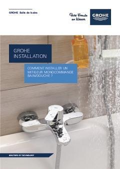 comment installer un robinet bain