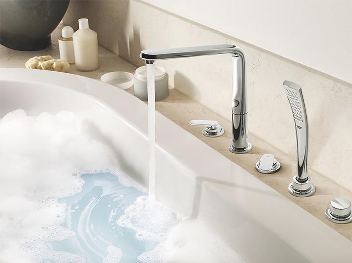 mitigeurs bain douche tendances