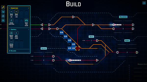 Rail Route gameplay