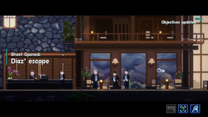 Lacuna - A Sci-Fi Noir Adventure screenshot 1