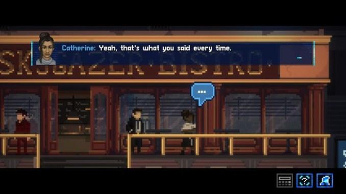 Lacuna - A Sci-Fi Noir Adventure screenshot 2