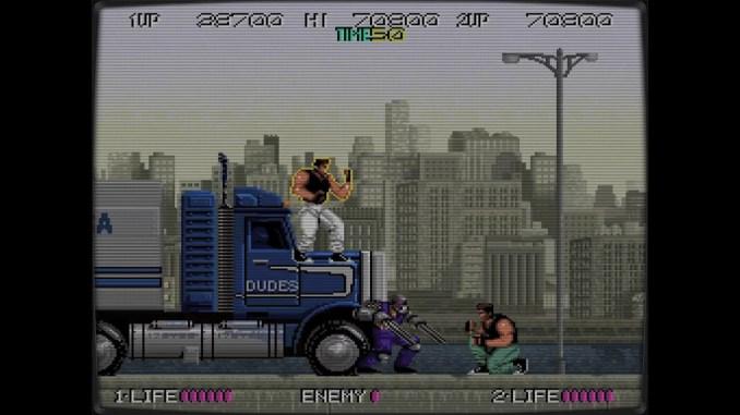 Retro Classix: Bad Dudes screenshot 1