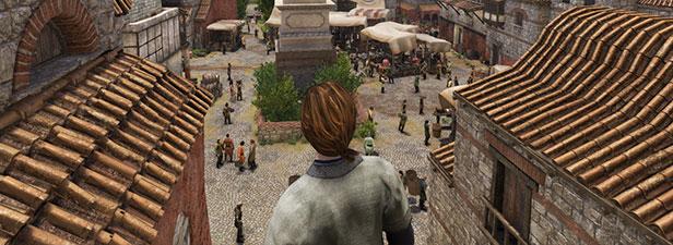 Mount & Blade II: Bannerlord cảnh thành phố