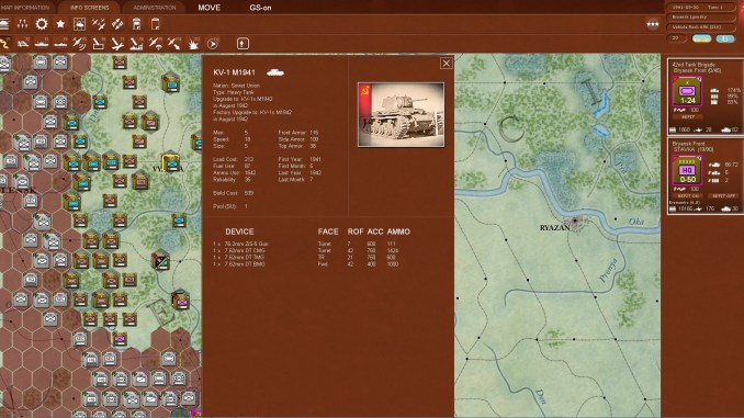 Gary Grigsby's War in the East Screenshot 2
