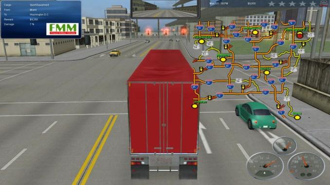 18 Wheels of Steel: Across America screenshot 2