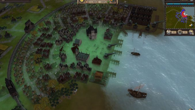 Patrician IV Gold screenshot 2