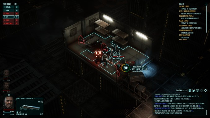 Colony Ship: A Post-Earth Role Playing Game screenshot 1