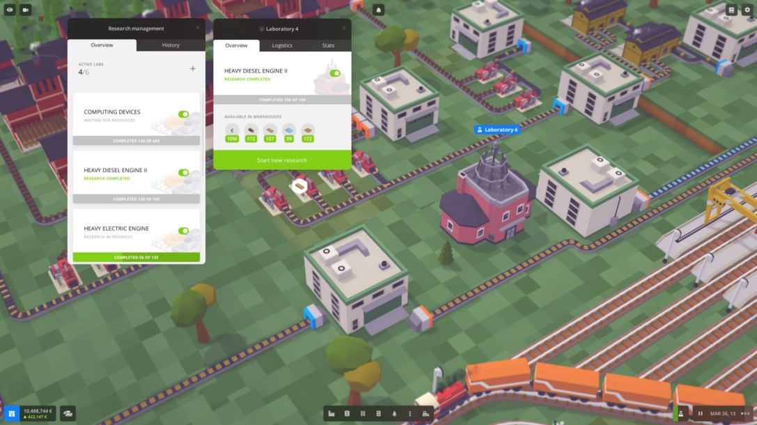 Voxel Tycoon  PREVIEW