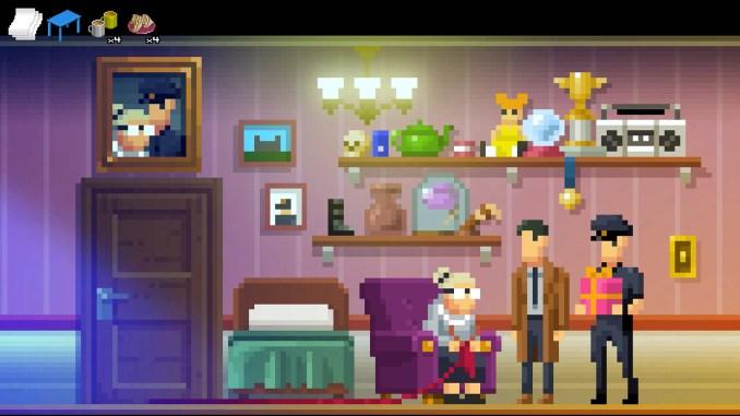 The Darkside Detective: A Fumble in the Dark screenshot 2