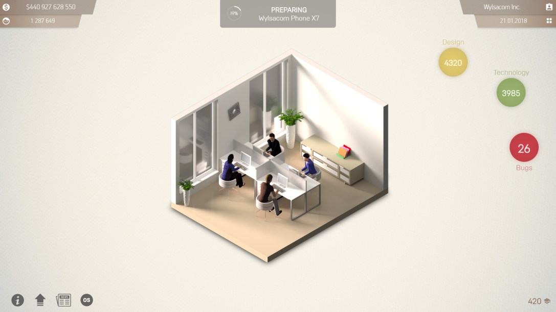 Smartphone Tycoon  PREVIEW