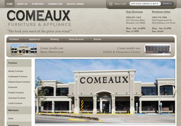 Comeaux Furniture New Orleans