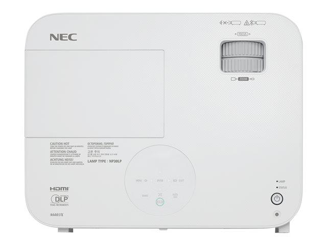 NEC M403H Projecteur DLP 3D 60003977