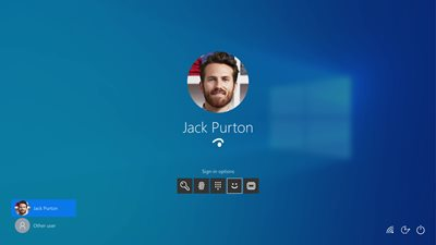 Windows Hello – säkerhet med ett leende