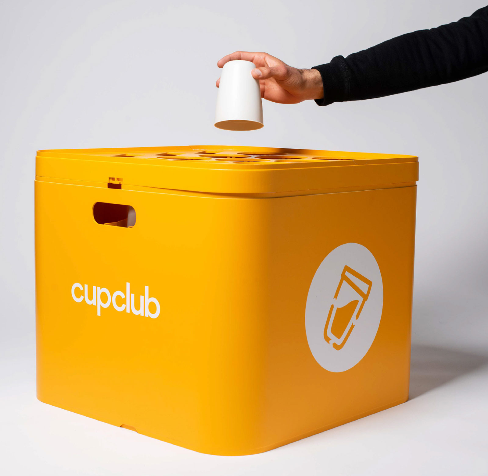 CupClub uses RFID chips to track and collect reusable cups. (NextGen Cup Challenge)