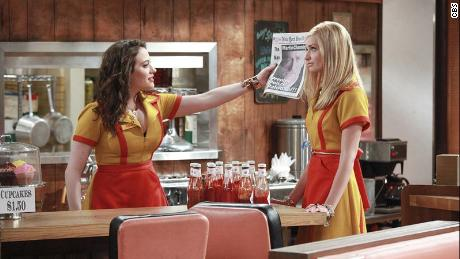 """""""Two Broke Girls,"""" starring Kat Dennings and Beth Behrs, is a popular show among Chinese millennials."""