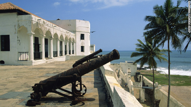 Inside Ghana's Elmina Castle is a haunting reminder of its grim past