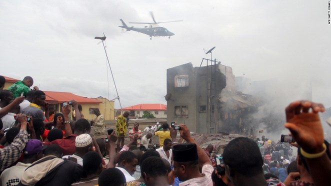 Image result for plane crash nigeria