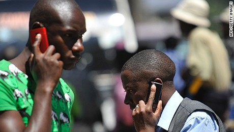 More Africans have access to cell phone service than piped water