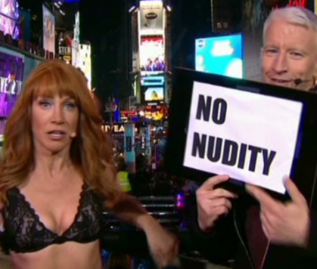 Cooper To Griffin No Nudity On Nye