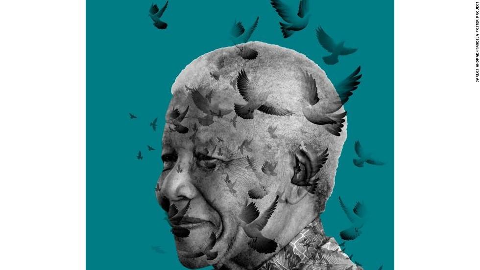 mandela posters mark 95th birthday cnn