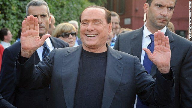 Silvio Berlusconi makes his comeback