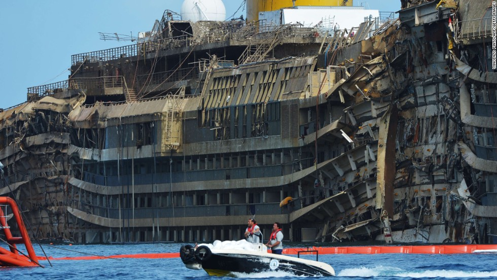 Costa Concordia Human Remains Found 20 Months After Wreck Cnn