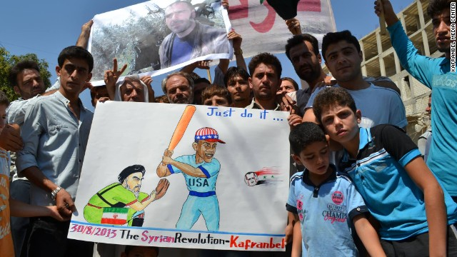 In northern Syria, rebels use satire as a weapon