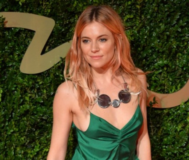 Sienna Miller Attends The British Fashion Awards 2013 At London Coliseum On December 2 2013