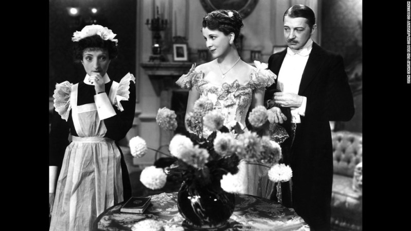 """Cavalcade,"" based on a Noel Coward play, won the 1932-33 prize for best picture. The film follows a London family from 1899 to 1933 and stars, left to right, Una O'Connor, Diana Wynyard and Clive Brook."