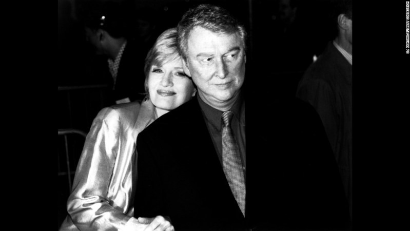 "Mike Nichols -- here with his wife, Diane Sawyer -- earned a reputation as one of the finest directors in film, TV and theater. He won an Oscar for directing 1967's ""The Graduate,"" four Emmys for his work on ""Wit"" and ""Angels in America,"" and nine Tony Awards, the most recent for his direction of a 2012 production of ""Death of a Salesman."" He was funny, too. His Grammy was for a 1961 comedy collaboration with Elaine May, ""An Evening with Mike Nichols and Elaine May."" Nichols died November 19, 2014."