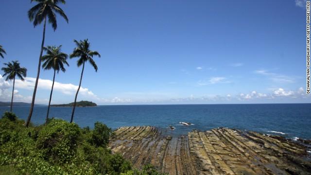 Port Blair, the administrative capital of the Andaman and Nicobar Islands.