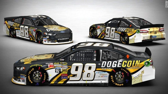 A 16-year-old, with the help of Reddit, got the No. 98 sponsored by Dogecoin for a race at the famous Talledega Superspeedway.