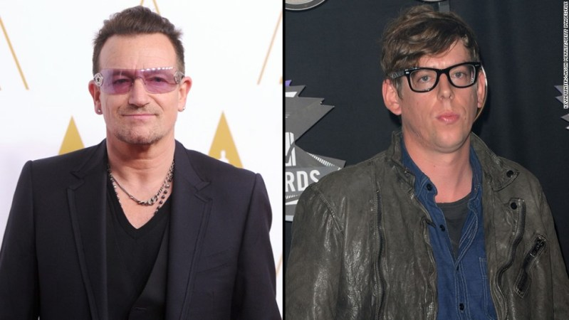"""Add Black Keys drummer Patrick Carney, right, to the list of musicians unimpressed with U2's attempt to give away an album on iTunes. <a href=""""http://blogs.seattletimes.com/soundposts/2014/10/15/black-keys-drummer-patrick-carney-u2-and-spotify-devalue-music/"""" target=""""_blank"""">Carney told The Seattle Times</a> that he believes the band, fronted by Bono, """"devalued their music completely"""" by offering the new release """"Songs of Innocence"""" as a free download to iTunes subscribers."""