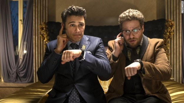 James Franco and Seth Rogan in 'The Interview'