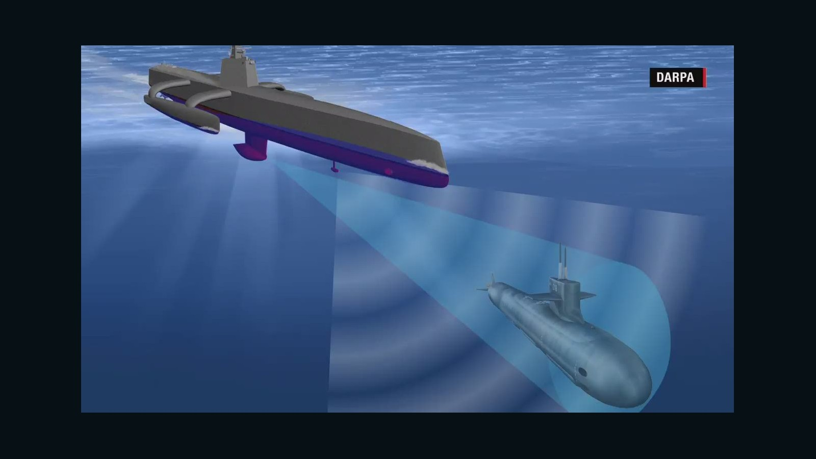 u.s. navy tests new submarine-hunting drone ship - cnn