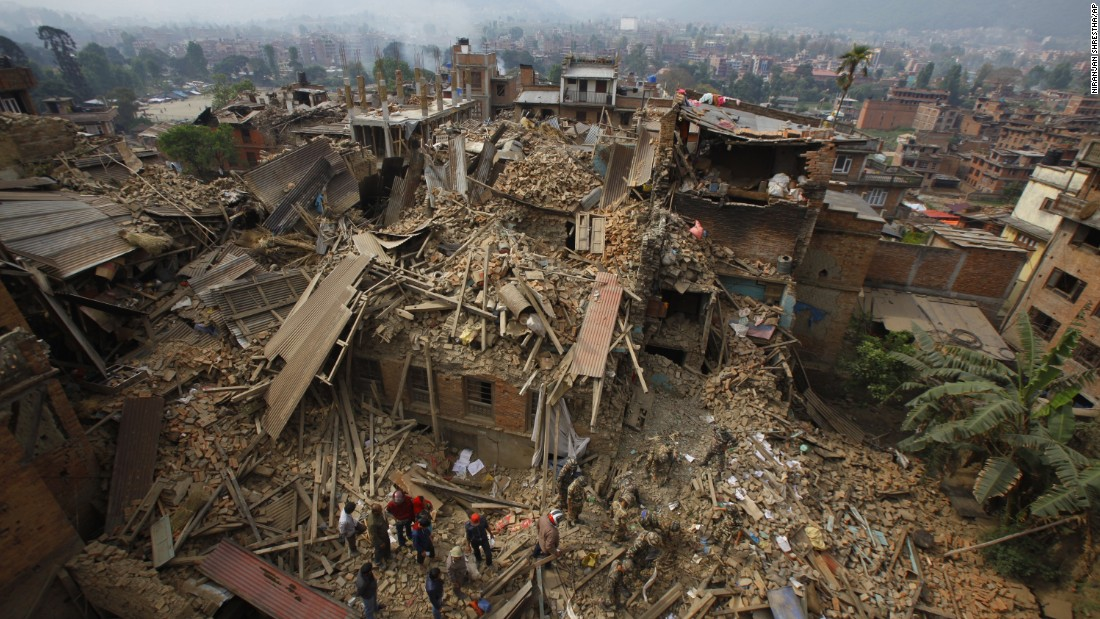 earthquake in kathmandu 2015