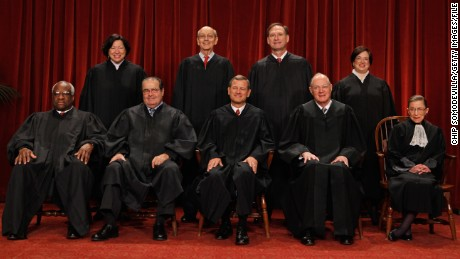 Main decisions of the United States Supreme Court