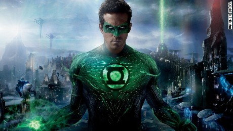 Ryan Reynolds Just Seen;  Green Lantern & # 39;  Thought for the first time and