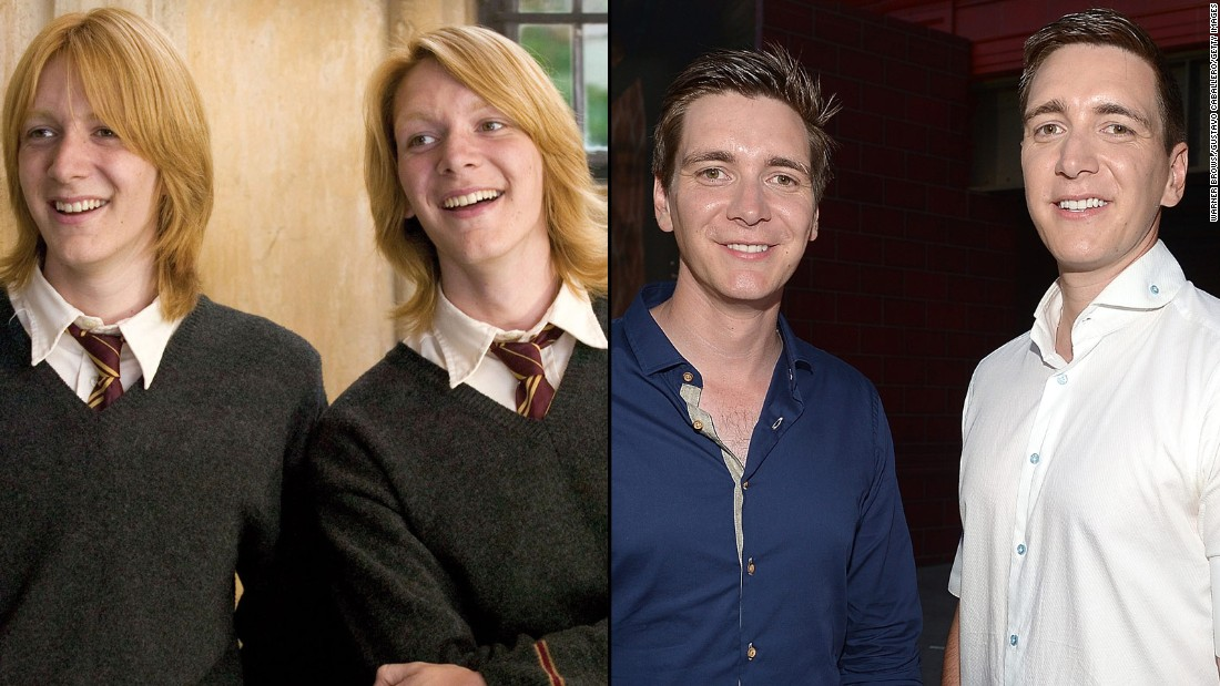 Resultado de imagem para harry potter cast now and then 2018
