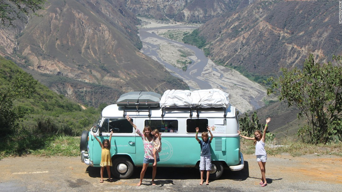 One Family's 13,000-mile Road Trip To See The Pope