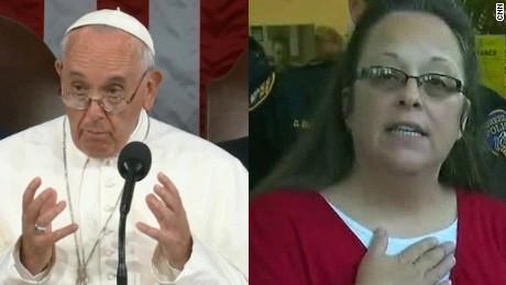 Pope replaces ambassador to U.S. who set up Kim Davis meeting