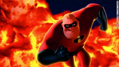 Craig T. Nelson voices the character, Mr. Incredible